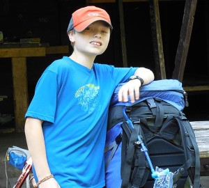 Keeping manageable backpack weight  for kids