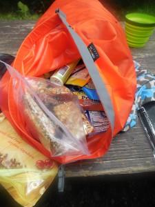 Musketeers LT hiking food