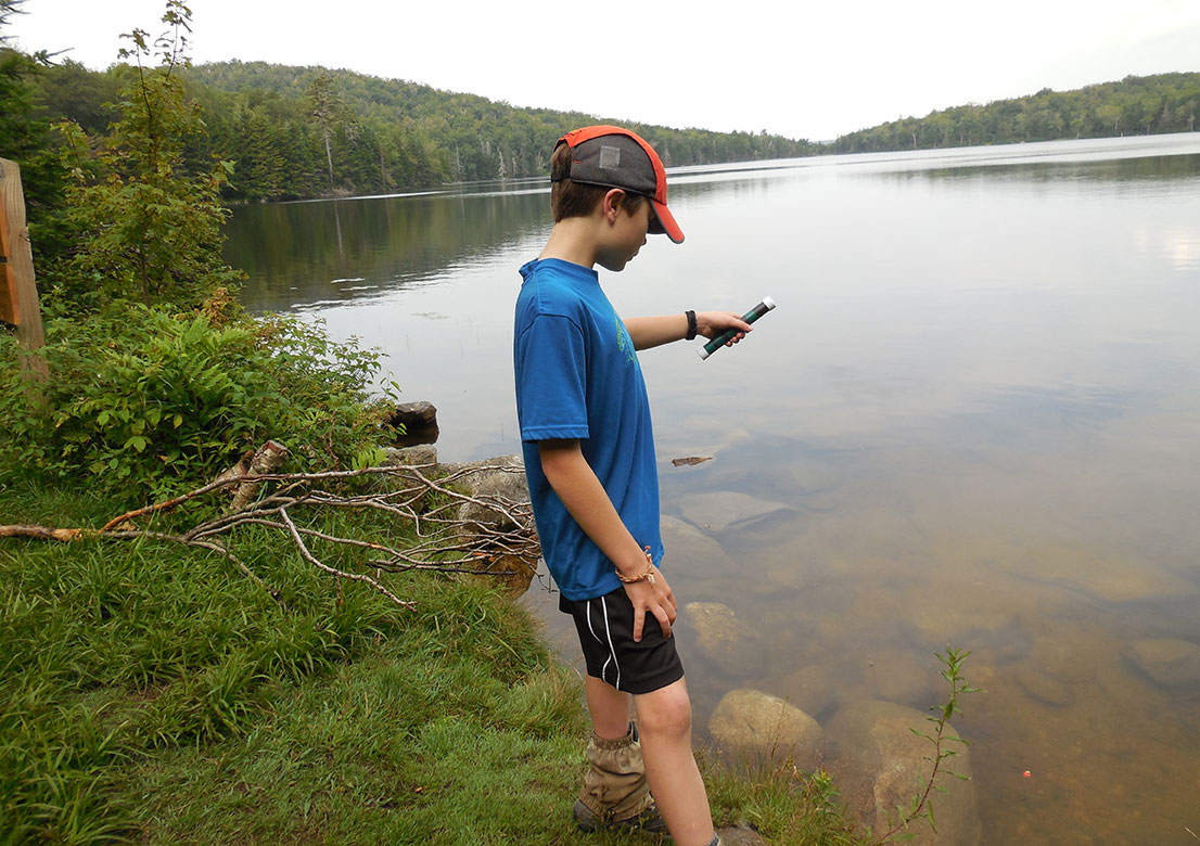fishing at stratton pond