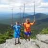 It was a glorious day on top of Killington peak!