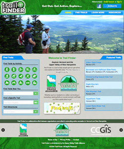 Trail Finder for Vermont and New Hampshire